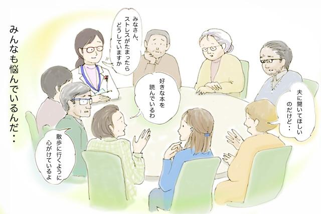 ショートストーリー:サポートグループ編3