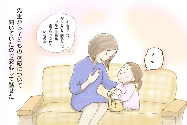 ショートストーリー:子どもへの説明編4